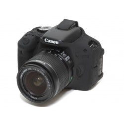EasyCover Protection Silicone pour Canon 650D / 700D / T4i / T5i