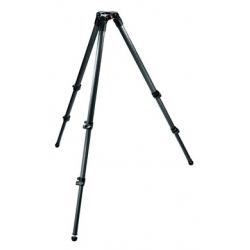 Manfrotto 535 TREPIED VIDEO 2 STAGE CARBONE MPRO 75mm