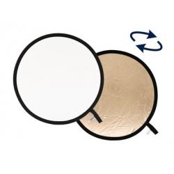 """Lastolite réflecteur rond Sunfire / Blanc pliable 90cm / 38"""" Ref.3806"""
