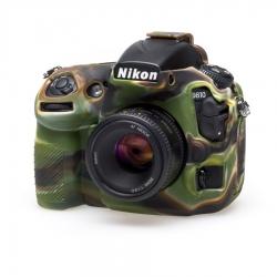 EasyCover Protection Silicone pour Nikon D810 Militaire