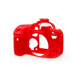 EasyCover Protection Silicone pour Canon 7D Mark II Rouge
