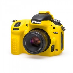 EasyCover Protection Silicone pour Nikon D750 Jaune