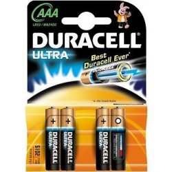 Duracell AAA 1.5v Ultra par 80 pcs