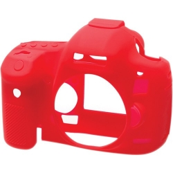 EasyCover Protection Silicone pour Canon 5D MK III / 5DS / 5DS R Rouge