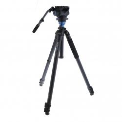 Benro C3573FS6 Kit Trépied Video Carbone