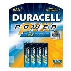 Duracell AAA 1.5v Power Pix par 40 pcs