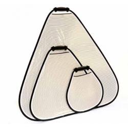 Lastolite Réflecteur Trigrip 45cm Argent / Blanc Ref. 3531