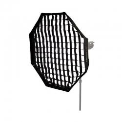 Quantuum Softbox octagonal 80cm avec Grid