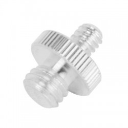 1/4 to 3/8 Stainless Steel Screw for Tripod Heads