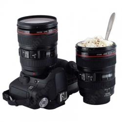 Plastic Simulation Dummy Zoom Lens (EF24-105mm G/ 4 USM) Coffee Cup Mug