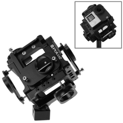 PULUZ Full Cube 6 in 1 Metal Protective Cage for GoPro HERO4 /3+(Black)