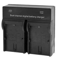 Double Chargeur de Voyage pour Canon LP-E6 série