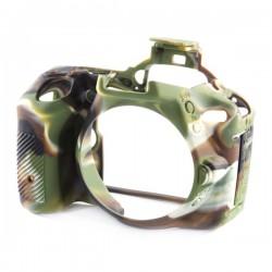 EasyCover Protection Silicone pour Nikon D5500/D5600 Militaire