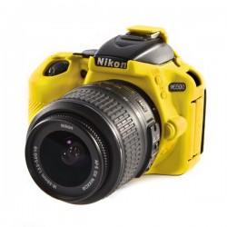 EasyCover Protection Silicone pour Nikon D5500/D5600 Jaune