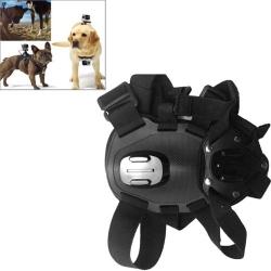 Dog Fetch Hound Harness Chest Strap Belt Mount for GoPro