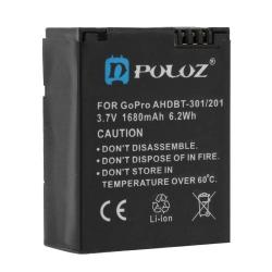 PULUZ AHDBT-301/201 3.7V 1680mAh Battery for GoPro HERO3+ /3