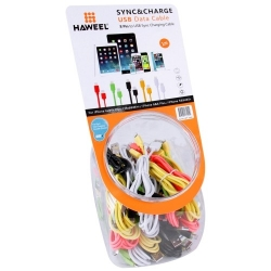 Haweel 35pcs Câble USB Iphone 5/6, Ipad...