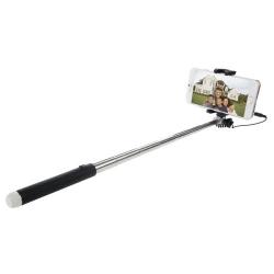 Haweel Selfie Stick pour iOS & Android Noir