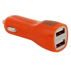 Haweel Dual USB Chargeur voiture Iphone, Samsung Orange