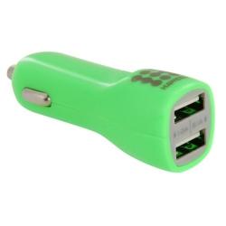 Haweel Dual USB Chargeur voiture Iphone, Samsung Vert