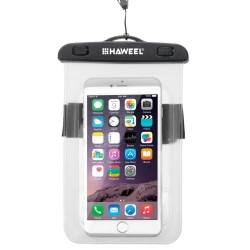 HAWEEL Transparent Universal Waterproof Bag for iPhone, Samsung Transparent
