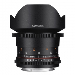Samyang 14mm T3.1 ED AS IF UMC VDSLR II Canon