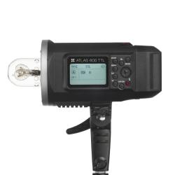 Quadralite Atlas 600 TTL flash 600w sur batterie