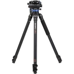 Benro Kit Trépied Video A373FBS7 Clapet - Système de mise à niveau + Tête vidéo S7