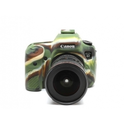 EasyCover Protection Silicone pour Canon 6D Militaire