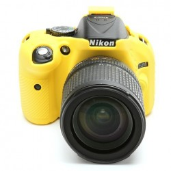 EasyCover CameraCase pour Nikon D5200 Jaune