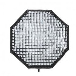 Godox Softbox + Grid série A - Boîte à lumière Octagonale de 120cm avec grille