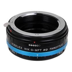 Fotodiox Pro Vizelex ND (ND2-ND1000) Nikon G to Micro-4/3