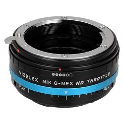 Fotodiox Pro Vizelex ND (ND2-ND1000) Nikon G to Sony NEX