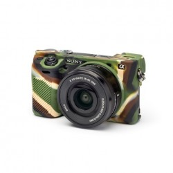 EasyCover CameraCase pour Sony A6000 / A6100 / A6300 / 6400 Militaire