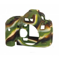 EasyCover Protection Silicone pour Canon 5D Mark II Militaire