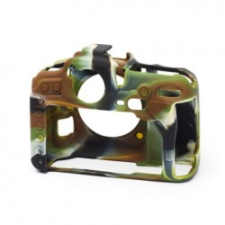 EasyCover Protection Silicone pour Nikon D500 Militaire
