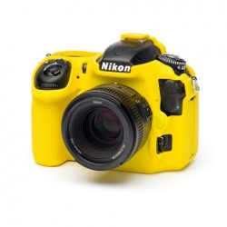 EasyCover Protection Silicone pour Nikon D500 Jaune