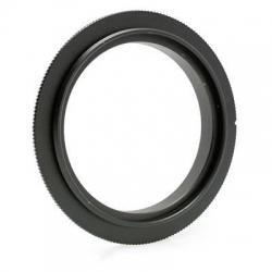 Bague d'inversion pour monture Canon EOS et pas de vis de 62mm