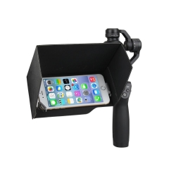 "SmartPhone Sunshade Sun Hood 5.5"" for DJI OSMO"