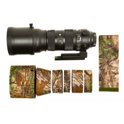 LensCover Sigma 150-600 f5-6.3 DG OS HSM Sport Camouflage APG