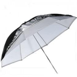 """Godox parapluie Double de studio UB-006 Blanc/argenté/Noir 33"""" (84cm)"""