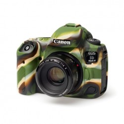 EasyCover Protection Silicone pour Canon 5D MK IV Militaire