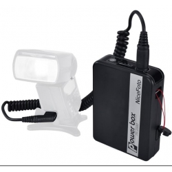 Nicefoto Power Box PA2000 booster pour flash Nikon SB800, SB900, SB910 etc...