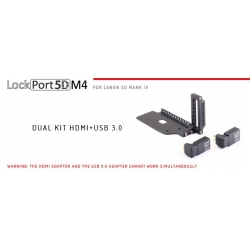 LockCircle Port5DM4 Dual Kit USB+HDMI Canon 5Dmk4
