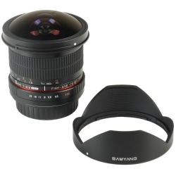 Samyang 8mm Fisheye f/3.5 MC CSII monture Canon