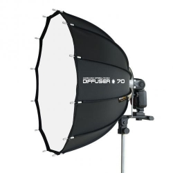 SMDV SPEEDBOX-70 Softbox Parapluie pour flash Cobra