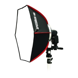 SMDV SPEEDBOX-40 Umbrella Softbox for Speedlight