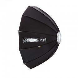 SMDV SPEEDBOX-A110 Softbox Parapluie flash Bowens