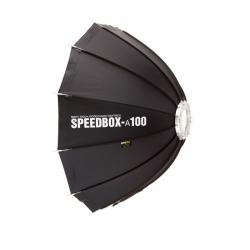SMDV SPEEDBOX-A100 Softbox Parapluie flash Bowens