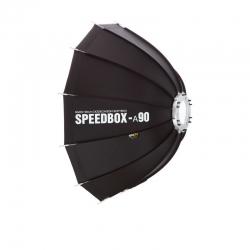 SMDV SPEEDBOX-A90 Softbox Parapluie flash Bowens